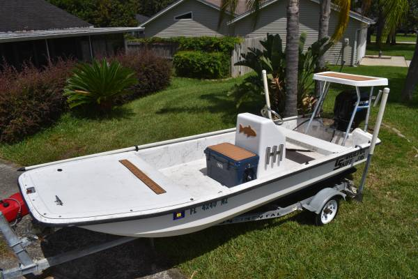 Photo J16 Carolina Skiff w50 Mercury - $9800 (cocoa beach)