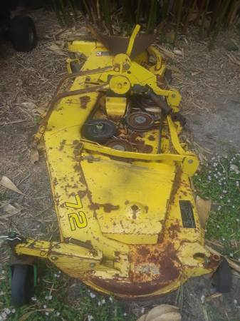 Photo John Deere 72 Inch Mid Mount Mower Deck - $500 (Palm Bay)