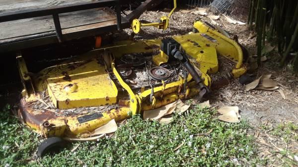 Photo John Deere 72 Inch Mid Mount Mower Deck - $300 (Palm Bay)