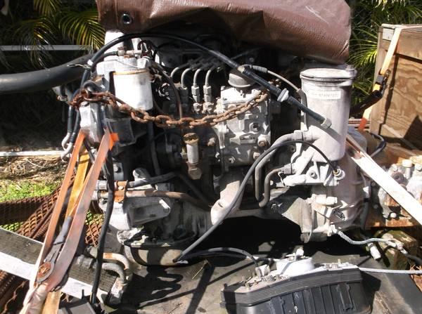 Photo Mercedes Diesel engine (OM616) - $1,500 (Miami)