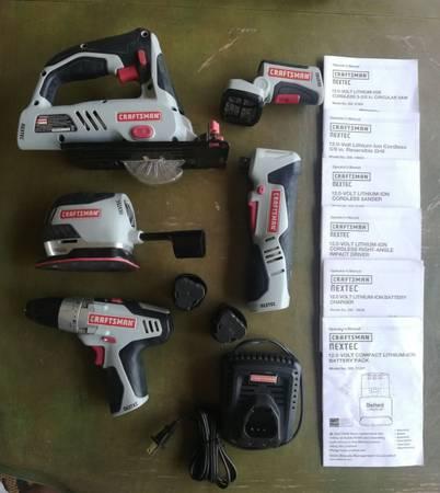 Photo NexTec Craftsman 12V Tool Set - $245 (Merritt Island)