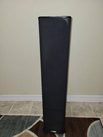 Photo Polk Floor Speakers Both - $135 (Melbourne)