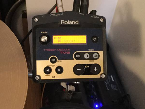 Photo ROLAND TM-2 DRUM MODUAL - $100 (PSJ)