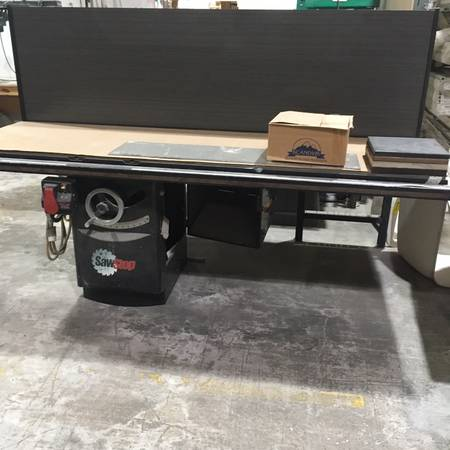 Photo SawStop 10quot Table Saw - $2500 (COCOA)