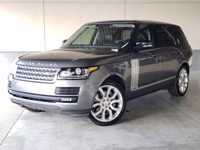 Photo Used 2015 Land Rover Range Rover Long Wheelbase Supercharged for sale