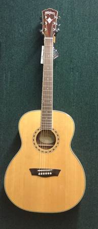 Photo Washburn Acoustic Guitar - $250 (Cape Canaveral)