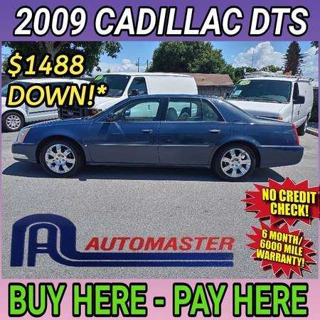 Photo 2009 CADILLAC DTS  BUY HERE - PAY HERE (Cocoa)