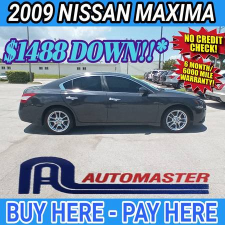Photo 2009 NISSAN MAXIMA  BUY HERE - PAY HERE - $1,488 (COCOA AUTOMASTER)