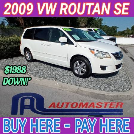 Photo 2009 VW ROUTAN SE  BUY HERE - PAY HERE - $1,998 (Cocoa)