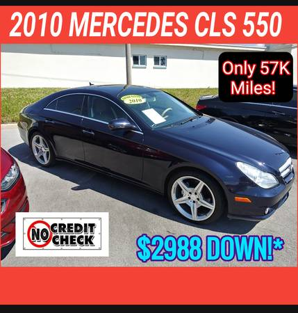 Photo 2010 MERCEDES CLS 550  BUY HERE - PAY HERE (COCOA  AUTOMASTER )