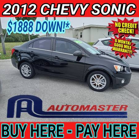 Photo 2012 CHEVY SONIC  BUY HERE - PAY HERE (Cocoa)