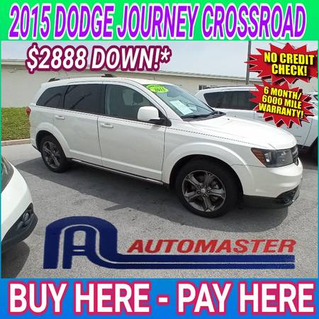 Photo 2015 DODGE JOURNEY CROSSROAD  BUY HERE - PAY HERE (Cocoa)