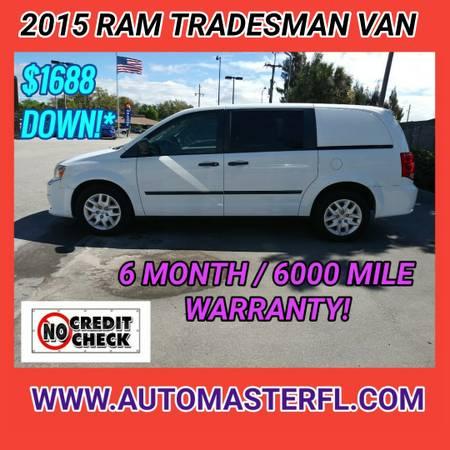Photo 2015 RAM TRADESMAN VAN  BUY HERE - PAY HERE (COCOA  AUTOMASTER )