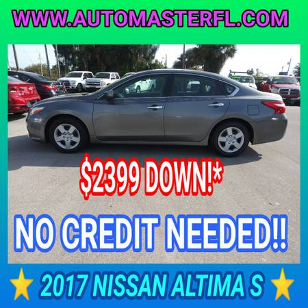 Photo 2017 NISSAN ALTIMA S  BUY HERE-PAY HERE, WARRANTY (COCOA)