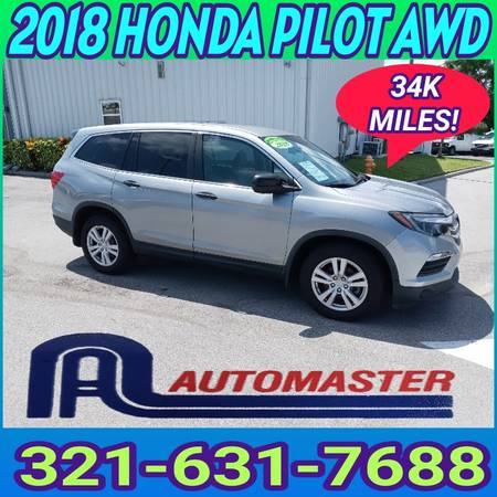 Photo 2018 HONDA PILOT AWD  1- OWNER  LOW MILES BUY HERE - PAY HERE - $32,995 (COCOA AUTOMASTER)