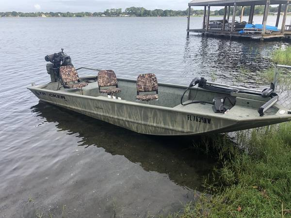 Photo Duck boat  MUD BUDDY  ALL WELDED - $12,500 (POLK)
