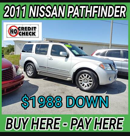 Photo NISSAN PATHFINDER  BUY HERE - PAY HERE (COCOA  AUTOMASTER )