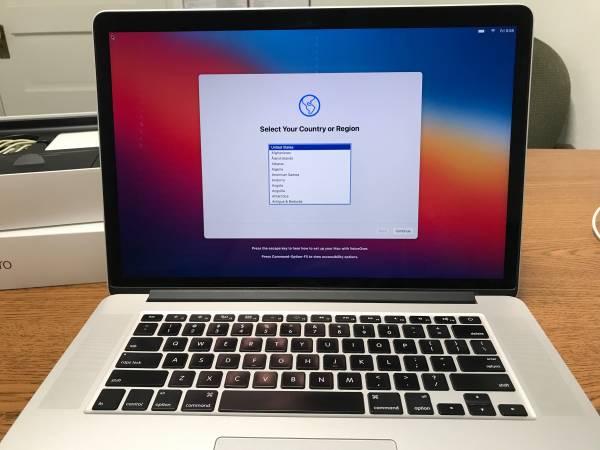 Photo 15 Inch Macbook Pro, i7, 16GB Ram, 256GB flash - $815 (Spokane)
