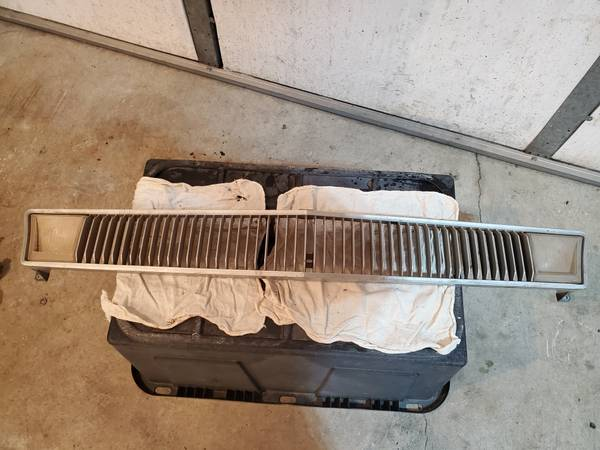 Photo 1970-73 Ford Pinto used grill - $125 (Spokane Valley)