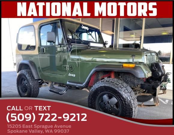 Photo 1988 Jeep Wrangler Jeep Wrangler Hardtop - $4995 (_Jeep_ _Wrangler_ _SUV_)