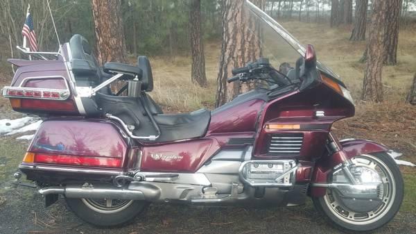 Photo 1990 GL 1500 Honda Goldwing - $3,000 (Spokane)