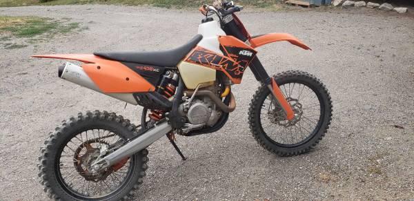Photo 2007 KTM EXC 450 - $4,200 (Colville)