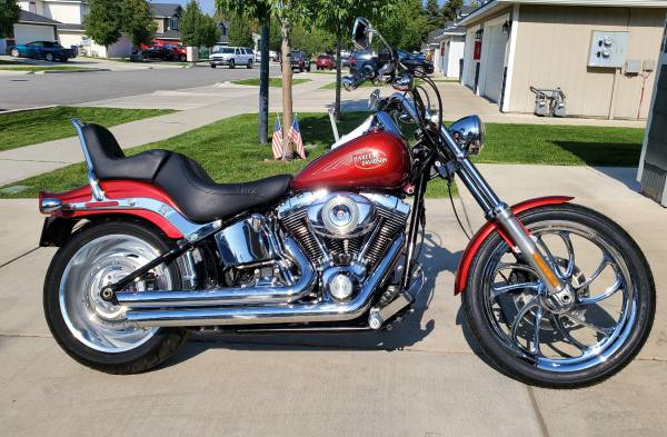 Photo 2008 HARLEY DAVIDSON SOFTAIL CUSTOM FXSTC - $8,995 (SPOKANE VALLEY)