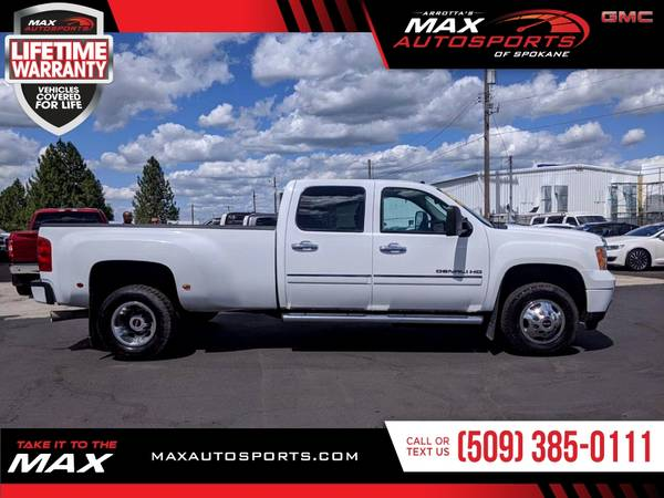 Photo 2011 GMC Sierra Denali Diesel Dually Pickup for ONLY $554 mo - $40,999 (Max Autosports of Spokane)