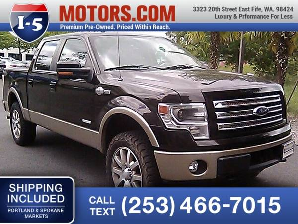 Photo 2013 Ford F-150 Truck F150 King Ranch Ford F 150 - $23993 (2013 Ford F-150 King Ranch)
