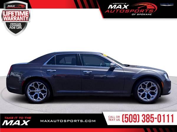 Photo 2016 Chrysler 300C 300 C 300-C PLATINUM 3.6L 3.6 L 3.6-L - $25999 (Max Autosports of Spokane)