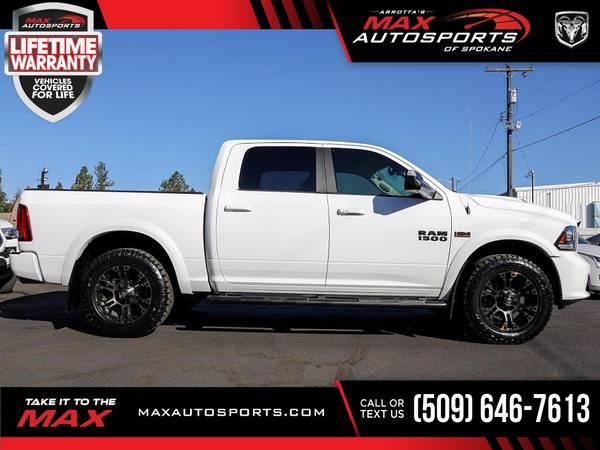 Photo 2016 Ram 1500 Sport MAXED OUT ONLY 10K 10 K 10-K MILE - $41,980 (Max Autosports of Spokane)