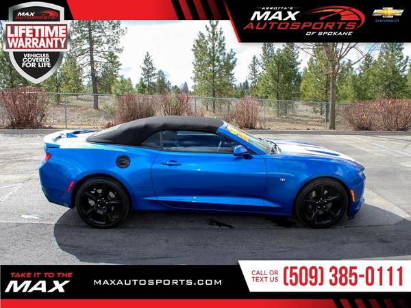 Photo 2018 Chevrolet Camaro 2SS 2 SS 2-SS PACKAGE CONVERTIBLE F - $39999 (Max Autosports of Spokane)