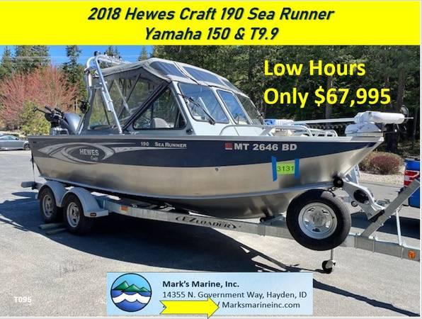 Photo 2018 Hewes Craft 190 Sea Runner (Hayden ID)
