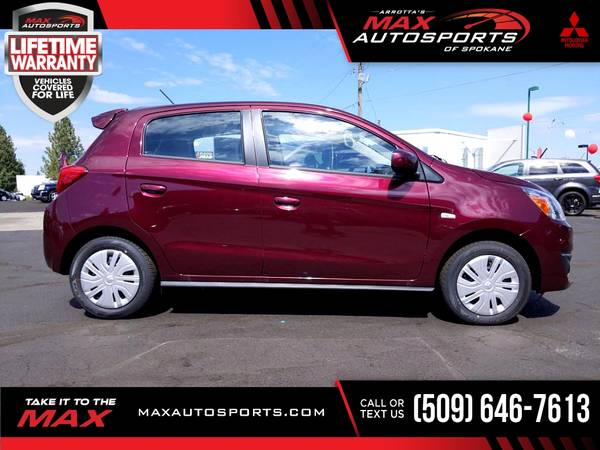 Photo 2020 Mitsubishi Mirage $270 mo LIFETIME WARRANTY - $19,999 (Max Autosports of Spokane)