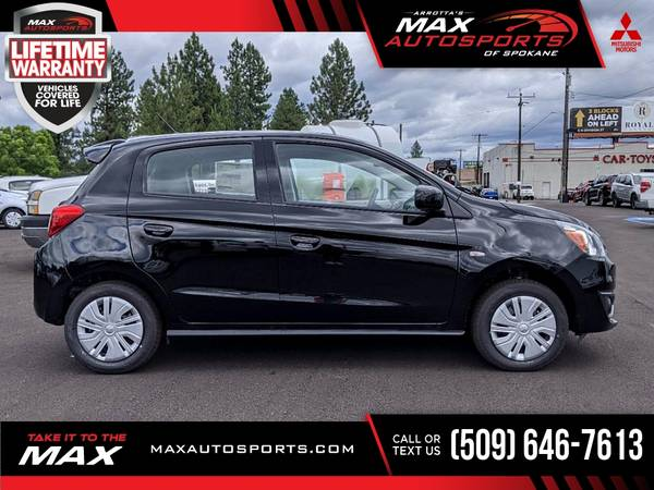 Photo 2020 Mitsubishi Mirage ES Hatchback for ONLY $270 mo - $19,999 (Max Autosports of Spokane)
