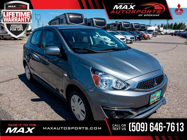 Photo 2020 Mitsubishi Mirage ES Hatchback for ONLY $243 mo - $17,999 (Max Autosports of Spokane)