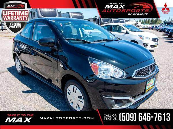 Photo 2020 Mitsubishi Mirage ES Hatchback for ONLY $257 mo - $18,999 (Max Autosports of Spokane)