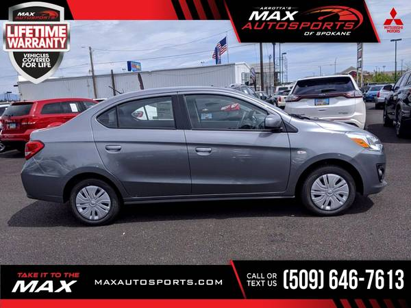 Photo 2020 Mitsubishi Mirage G4 G 4 G-4 ES Sedan for ONLY $270 mo - $19,999 (Max Autosports of Spokane)