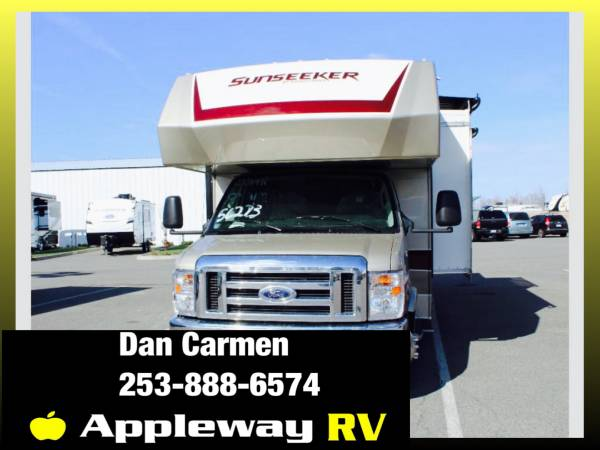Photo 2021 Forest River RV Sunseeker Classic 2500TS Ford - $119,998 (liberty lake)