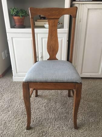4 Antique Quarter Sawn Tiger Oak Dining Chairs 85 Cda Furniture For Sale Spokane Wa Shoppok