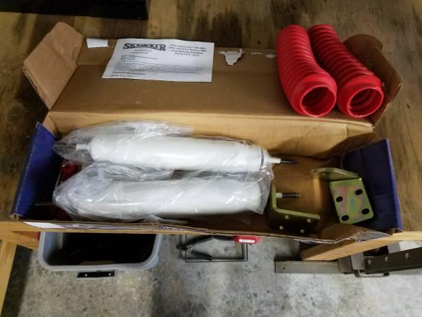 Photo 79 ford bronco,truck dual steering stabalizer kit - $125 (deer park)