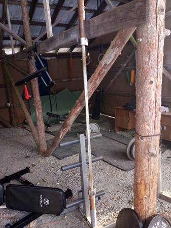 Bench Press  Weight Tree - $175 (Sandpoint)