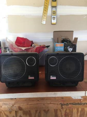 Photo Car stereo stereo speakers - $40 (Rathdrum)