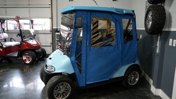 Photo Custom E-Z-GO Golf Cart 2017 Make Offer - $10995 (www.ott-knottgolfcarts.com)