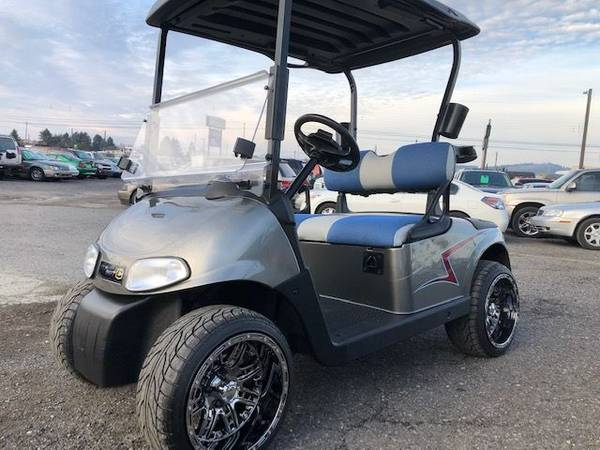 Photo Custom E-Z-GO Golf Cart - $6995 (www.ott-knottgolfcarts.com)