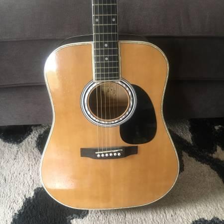 Photo Esteban American Legacy Acoustic Electric Guitar - $150 (Spokane Valley)