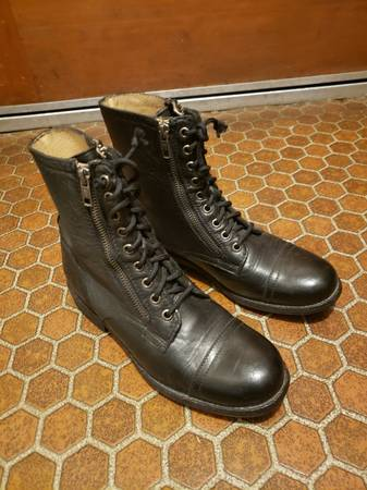 Photo Frye leather boots size 8 - $50 (Post Falls)