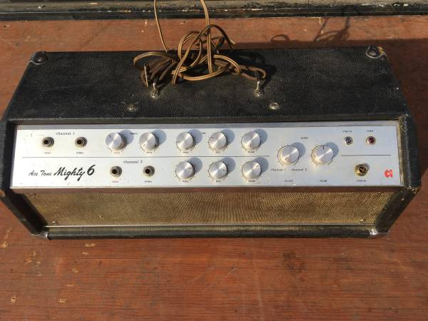 Photo Guitar Head Amp - Vintage  Very Rare AceTone Mighty - $450