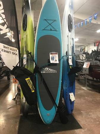 Photo Holiday Special - Stand-Up Paddle Board Kit - $299 (At Elephant Boys Spokane Valley)
