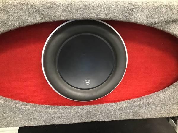 Photo JL Audio W7 15 Sub in Box - $800 (Spokane)